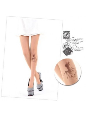Favori Collants fantaisie Tatouage motif Fée PZ76